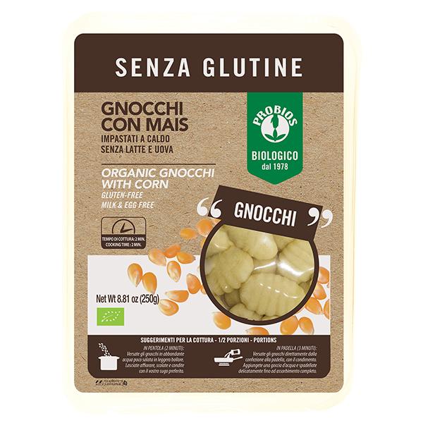 Gnocchi cu porumb (fara gluten) Probios BIO - 250 g imagine produs 2021 Probios