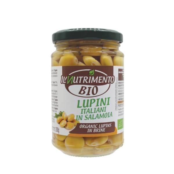 Lupin boabe (borcan) Probios BIO - 280 g imagine produs 2021 Probios
