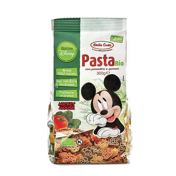 Paste tricolore Disney Mickey Probios BIO - 300 g imagine produs 2021 Probios