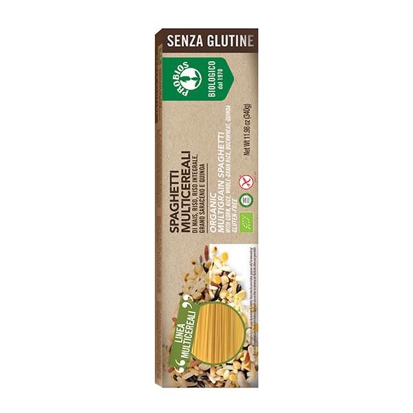 Spaghetti multicereale (fara gluten) Probios BIO - 340 g imagine produs 2021 Probios