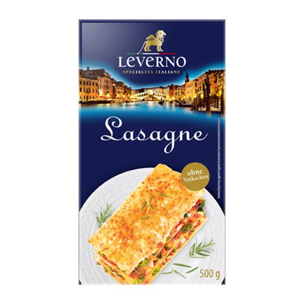 Foi pentru lasagna (fara ou) Leverno - 500 g imagine produs 2021 Leverno