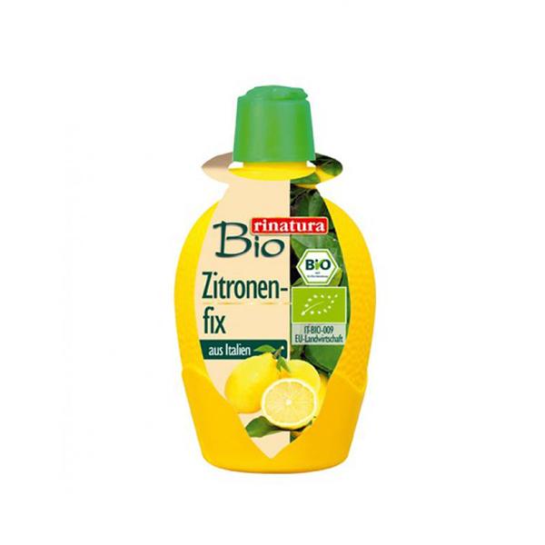 Suc concentrat de lamaie (fara gluten) BIO Rinatura - 100 ml imagine produs 2021 Rinatura