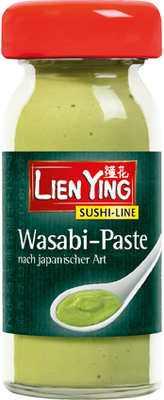 Pasta wasabi (hot) Lien Ying - 50 g imagine produs 2021 Lien Ying