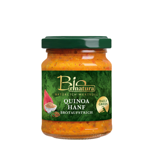 Pateu vegetal quinoa si canepa (fara gluten) BIO Rinatura - 120 g imagine produs 2021 Rinatura