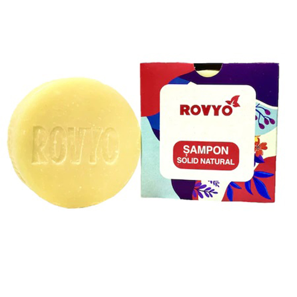 Sampon solid natural antimatreata Rovyo - 90 g imagine produs 2021 Apiland