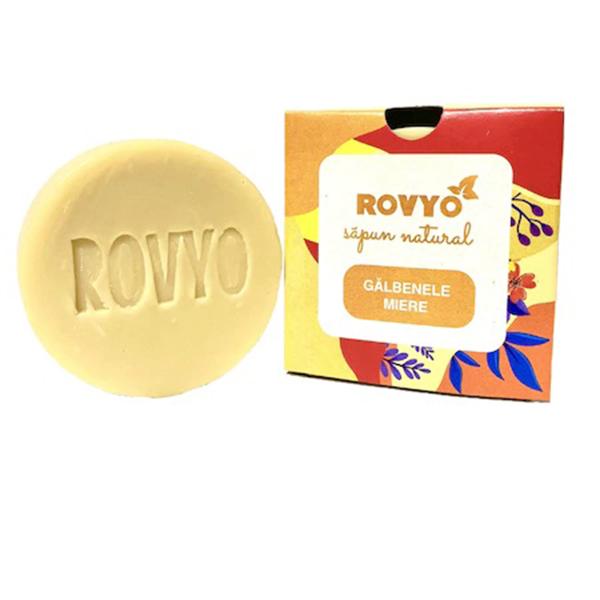 Sapun cu galbenele si miere Rovyo - 90 g imagine produs 2021 Apiland