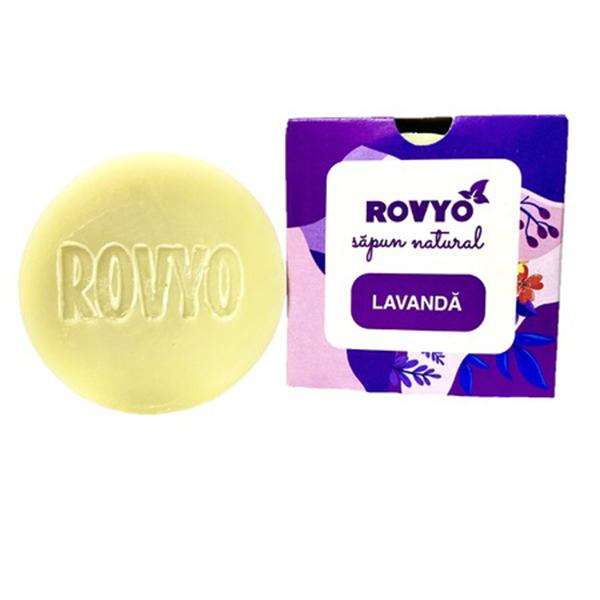 Sapun cu lavanda Rovyo - 90 g imagine produs 2021 Apiland