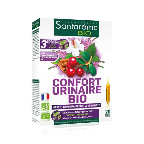 Confort Urinar Santarome BIO - 20 fiole imagine produs 2021