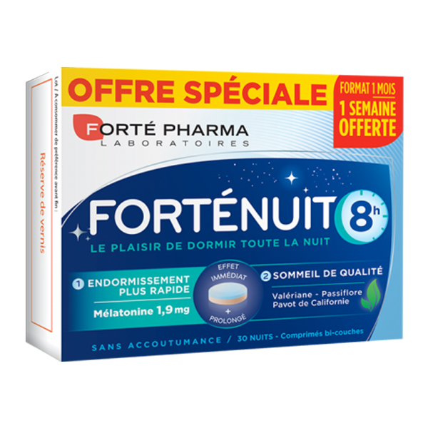 Forte Nuit 8h Forte Pharma - 15 capsule imagine produs 2021 Forte Pharma