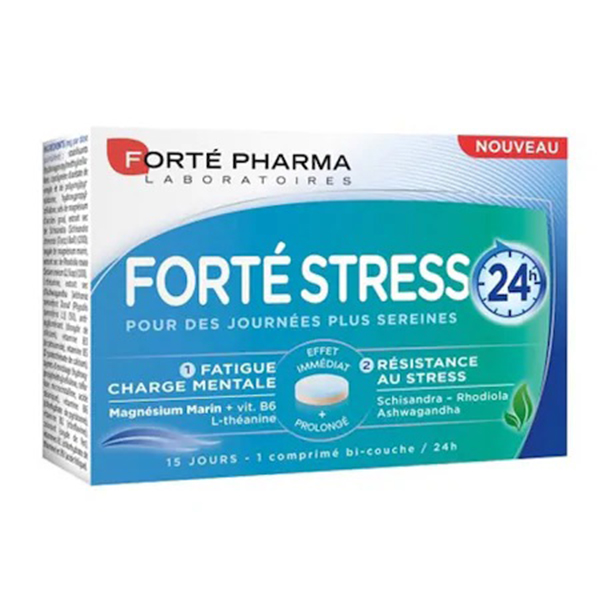 Forte Stress 24h Forte Pharma - 15 capsule imagine produs 2021 Forte Pharma