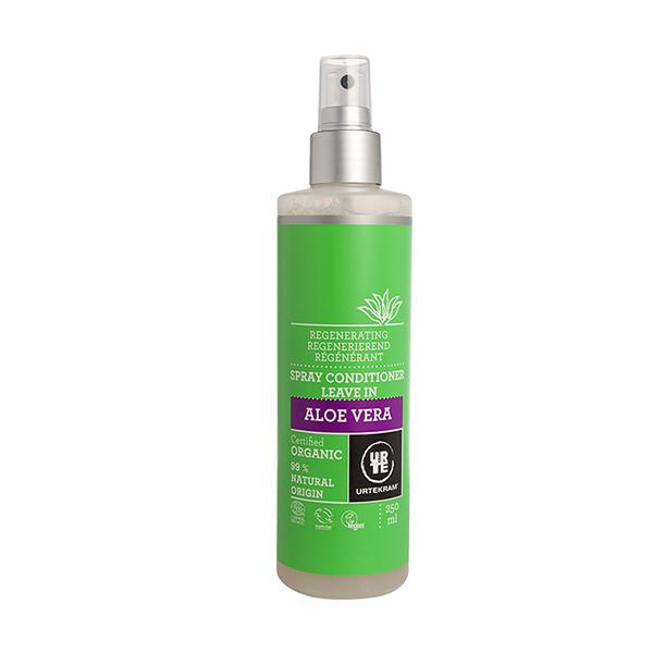 Balsam spray leave-in pt par cu aloe vera BIO Urtekram - 250 ml imagine produs 2021 Urtekram