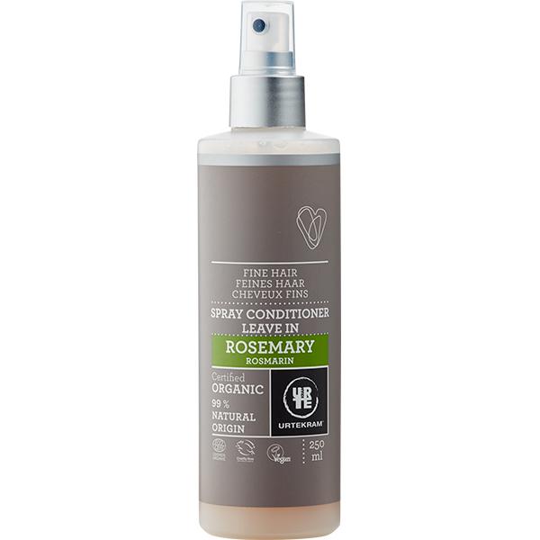 Spray leave-in cu rozmarin pentru par fin BIO Urtekram - 250 ml imagine produs 2021 Urtekram