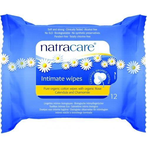 Servetele umede pentru igiena intima ECO Natracare - 12 bucati imagine produs 2021 Natracare