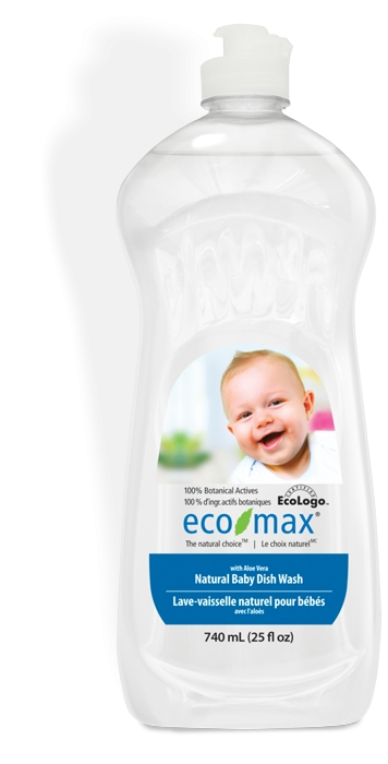 Solutie spalat vase si biberoane, cu aloe vera, pentru bebelusi Ecomax - 740 ml imagine produs 2021 Ecozone