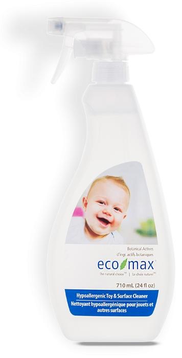 Solutie pentru curatare jucarii si camera bebelusului Ecomax - 710 ml imagine produs 2021 Ecozone