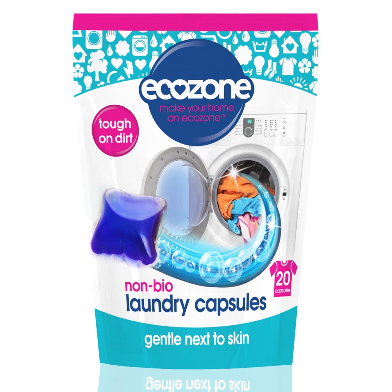 Detergent capsule (20 bucati) Ecozone - 500 g imagine produs 2021 Ecozone