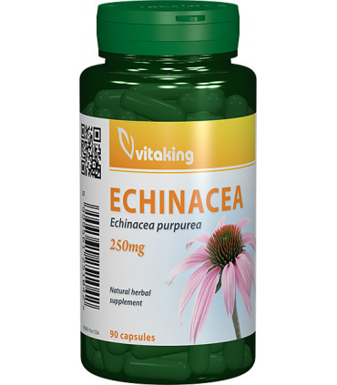 Extract de echinacea 250 mg Vitaking - 90 capsule imagine produs 2021 Vitaking