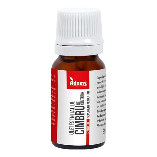 Ulei esential de cimbru (uz intern) Adams - 10 ml imagine produs 2021 Adams Supplements