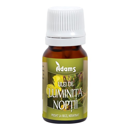 Ulei de luminita noptii Adams - 10 ml imagine produs 2021 Adams Supplements