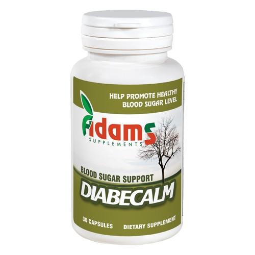 Diabecalm Adams Supplements - 30 capsule imagine produs 2021 Adams Supplements