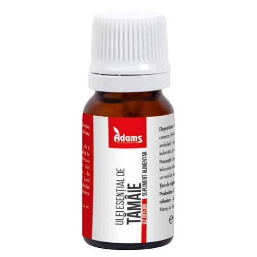 Ulei esential de tamaie (uz intern) Adams - 10 ml imagine produs 2021 Adams Supplements