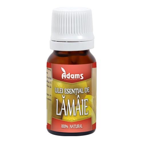 Ulei esential de lamaie Adams - 10 ml imagine produs 2021 Adams Supplements