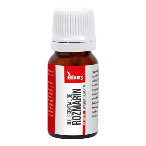 Ulei esential de rozmarin (uz intern) Adams - 10 ml imagine produs 2021 Adams Supplements