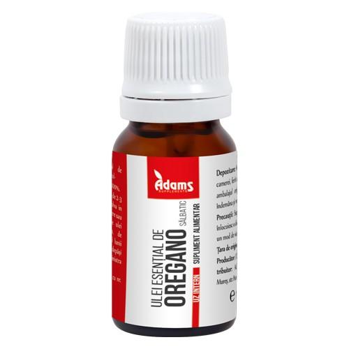 Ulei esential de oregano salbatic (uz intern) Adams - 10 ml imagine produs 2021 Adams Supplements