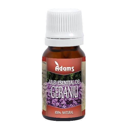 Ulei esential de geraniu Adams - 10 ml imagine produs 2021 Adams Supplements