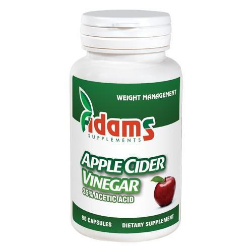 Apple Cider Vinegar Adams Supplements - 90 capsule imagine produs 2021 Adams Supplements